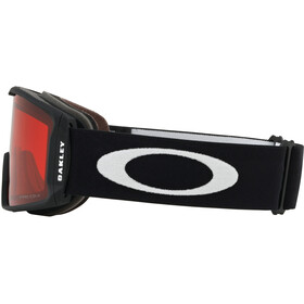 Oakley Line Miner XL Occhiali Da Neve Uomo, nero/rosso